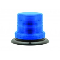 Compact ~Blue Warning Beacon - Three-Bolt Mount