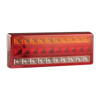 Rear Stop/Tail/Indicator/Reverse Lamp - 12/24V