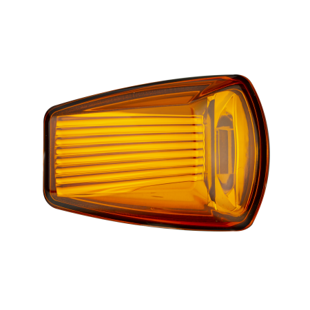Compact Category 6 Side Direction Indicator - Amber Lens