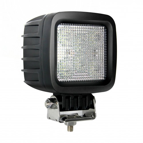 Square 6 x 5W LEDs Work Lamp