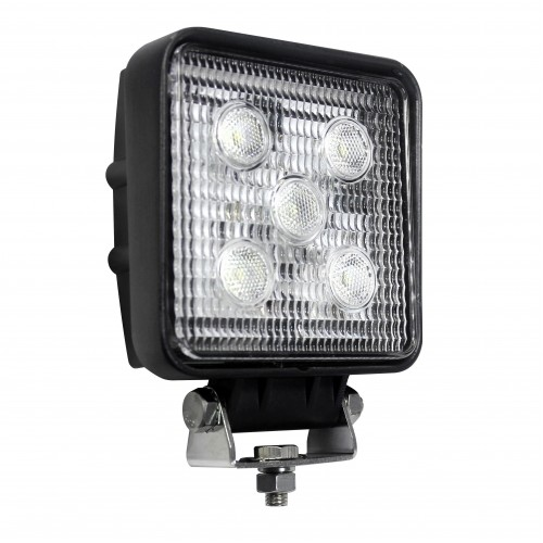 Square 5 x 3W LEDs Work Lamp