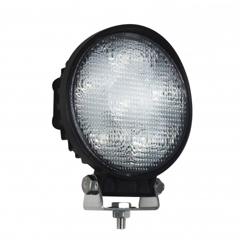 Round 6 x 3W LEDs Work Lamp