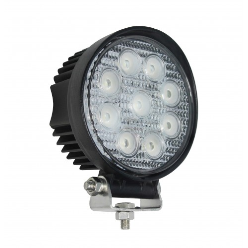 Round 9 x 3W LEDs Work Lamp