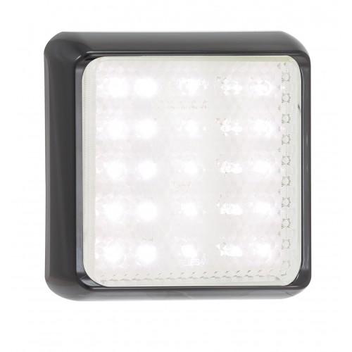 Square Reverse Lamp – Black Bracket
