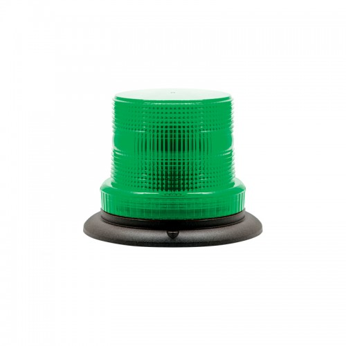 Compact Green Warning Beacon - Three-Bolt Mount
