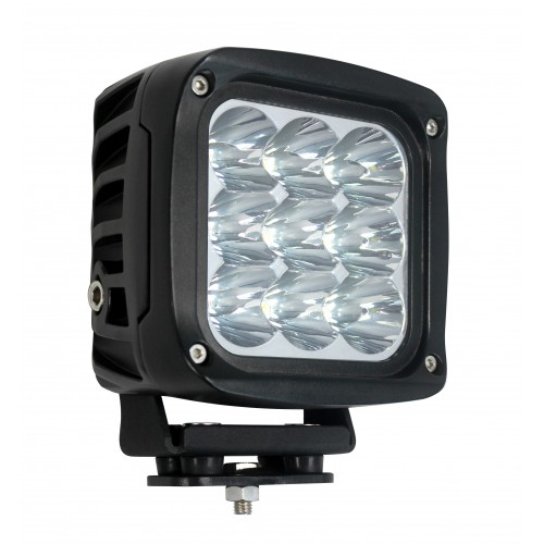Large Square 9 x 5W LEDs Work Lamp