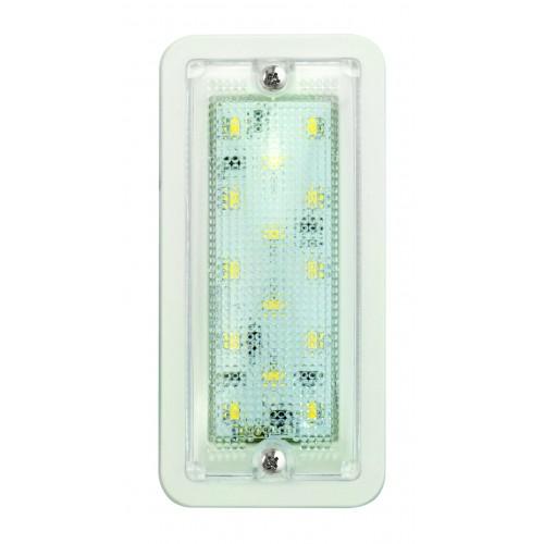 Rectangular Interior Lamp – White