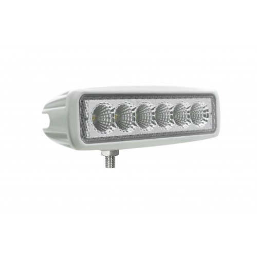 Rectangular 6 x 3W LEDs Work Lamp