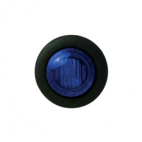 Round Blue Marker Lamp