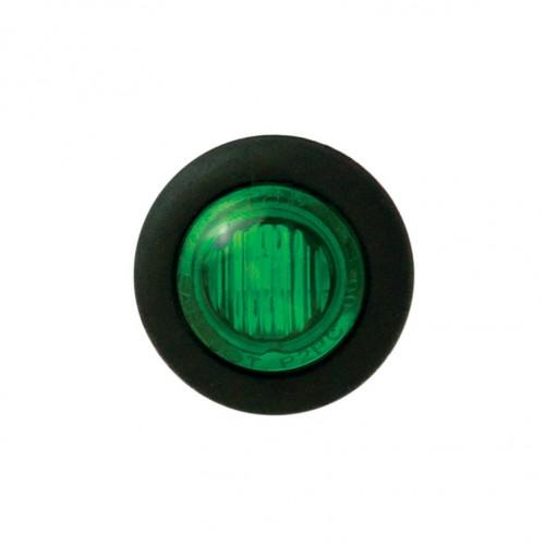 Round Green Marker Lamp