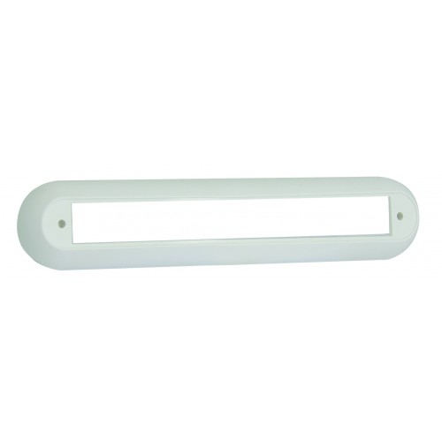 Single Surface Mounting Bracket – White