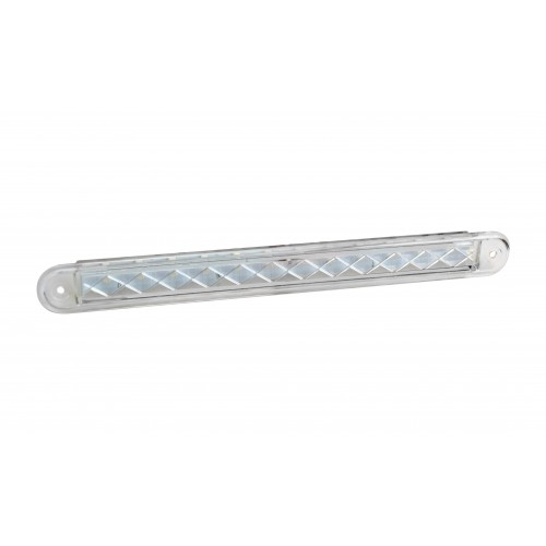Compact Combination Rear Strip Lamp - White - 24V