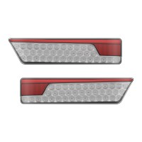 Multifunction Rear Lamp With Dynamic Indicator - Chrome Twin Pack