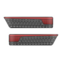Multifunction Rear Lamp With Dynamic Indicator - Black Twin Pack