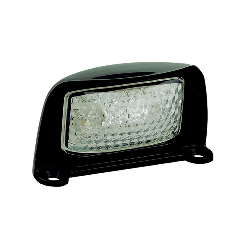 Number Plate Lamp – Black Housing