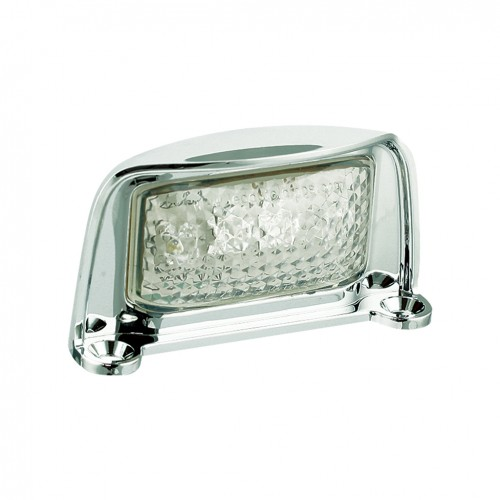 Number Plate Lamp – Chrome Housing
