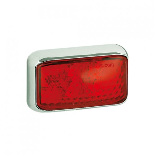 Rear End Marker Lamp – Chrome Bracket