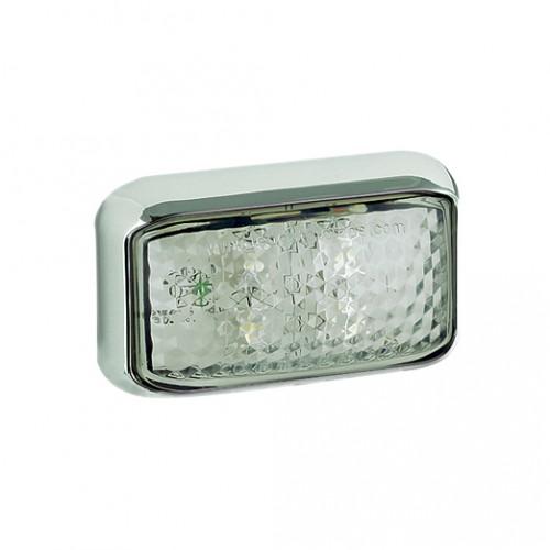 Front End Marker Lamp – Chrome Bracket