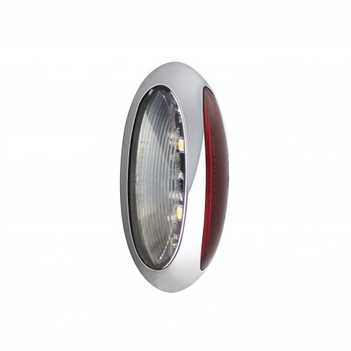 Front Rear Marker Lamp - Chrome