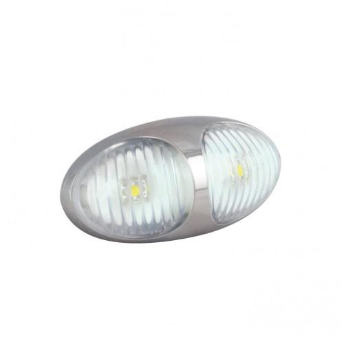 Front Marker Lamp – Chrome Housing