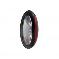 Front/Rear Marker Lamp - Black (2-Pin Harness)