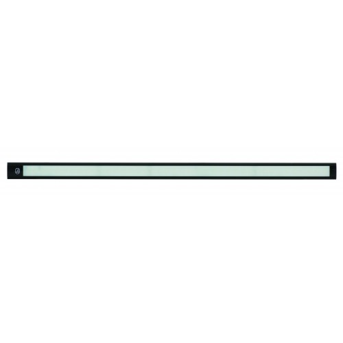12V - 770Mm Interior Strip Lamp W/ Touch Switch - Black Aluminium
