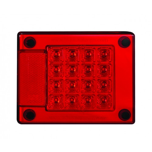Stop / Tail Lamp With Integrated Reflex Reflector