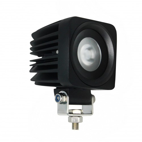Small Square 1 x 10W LED Work Lamp