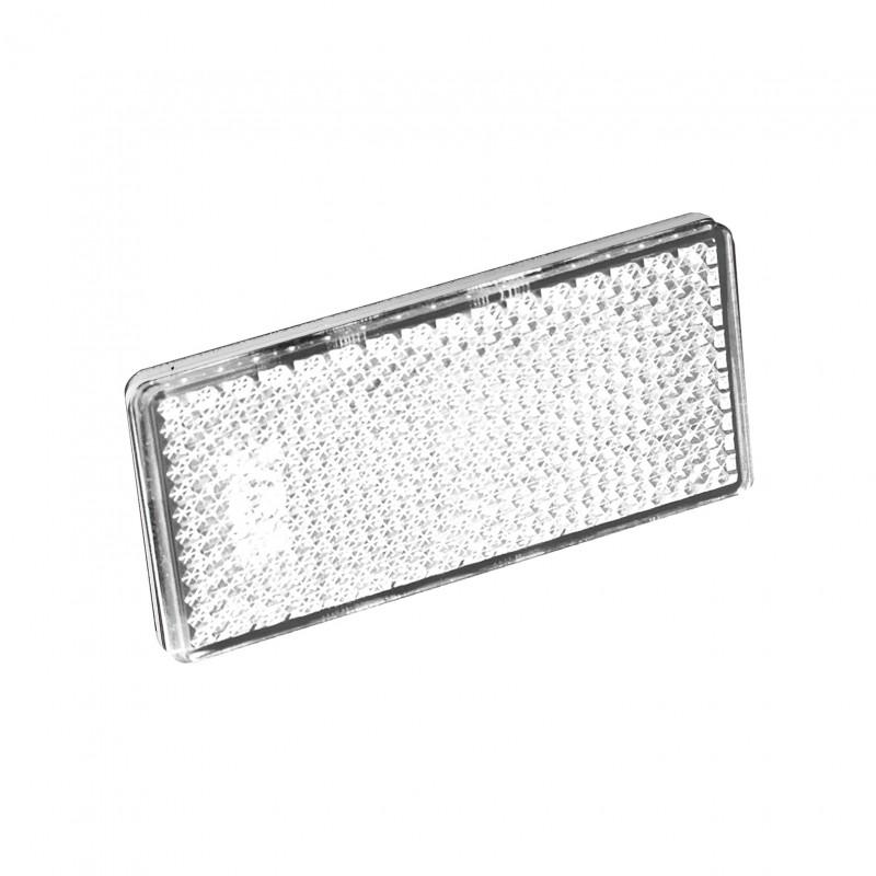 rectangular reflector  u2013 white  twin pack