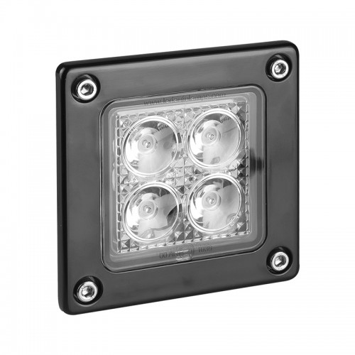 Recess Mounted Square Work / Reverse Lamp - R23 Approved
