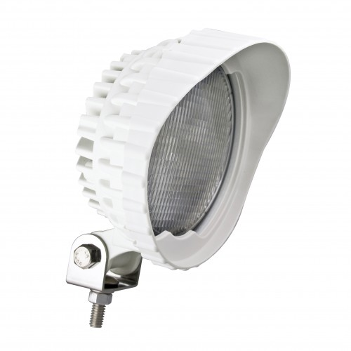 Round Work Lamp – White – 12V