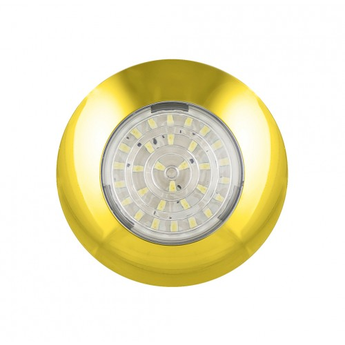 Round Interior Lamp – Gold