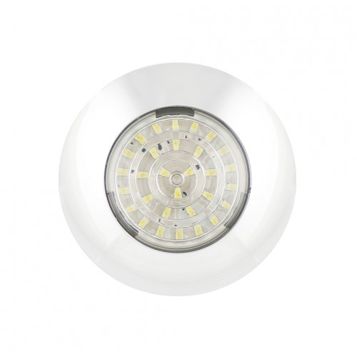 Round Interior Lamp – White