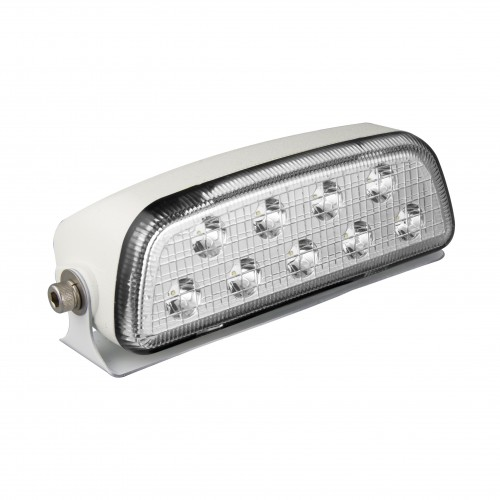 Low Profile Flood Lamp – White