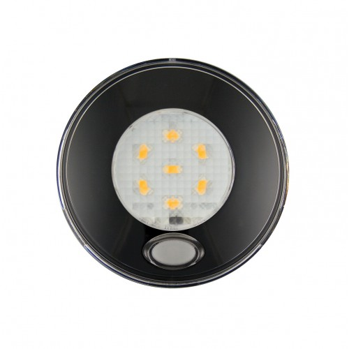 Round Interior Switched Lamp – Black
