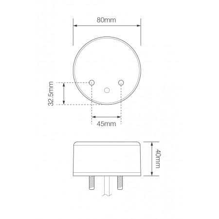 Front Indicator/Front Marker Combi - 24V