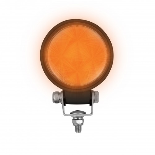 Compact Round Work Lamp – Amber Output