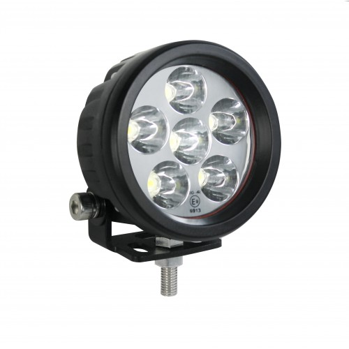 Round Reverse / Work Lamp - 10-80V