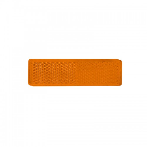 Rectangular Reflector – Amber (Twin Pack)