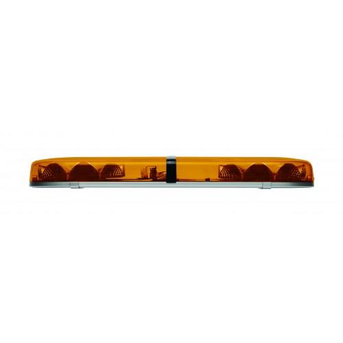 2.5ft R65 LED Lightbar - 2 Modules, Amber Lens