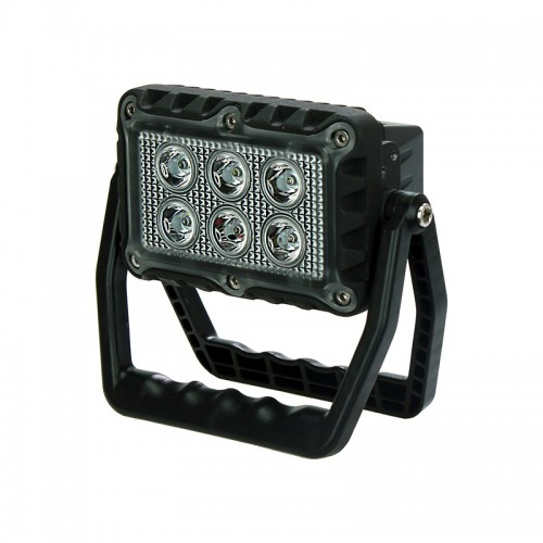 USB Rechargeable LED Work Light with Folding Stand
