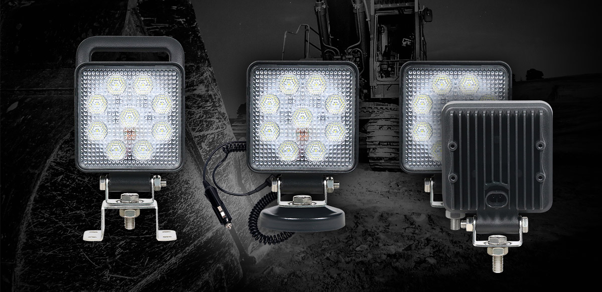 Product Range Expansion: New 10015 Advanced Work Lamp Variations