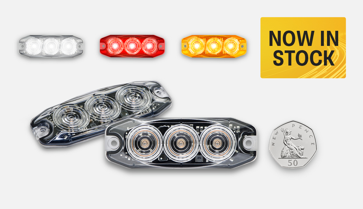 NEW Product Release - 11 Series Low-Profile Vehicle Lighting