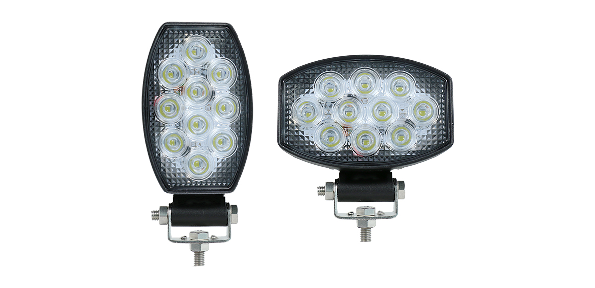 15030BMV: New Oval LED Flood Lamp - Vertical or Horizontal Mount