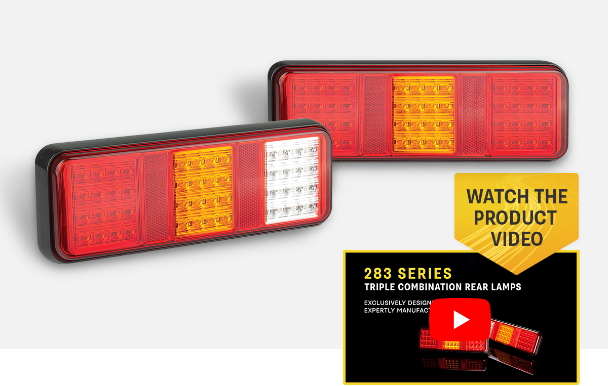 Product Focus - 283 Series Triple Combination Rear Lamps