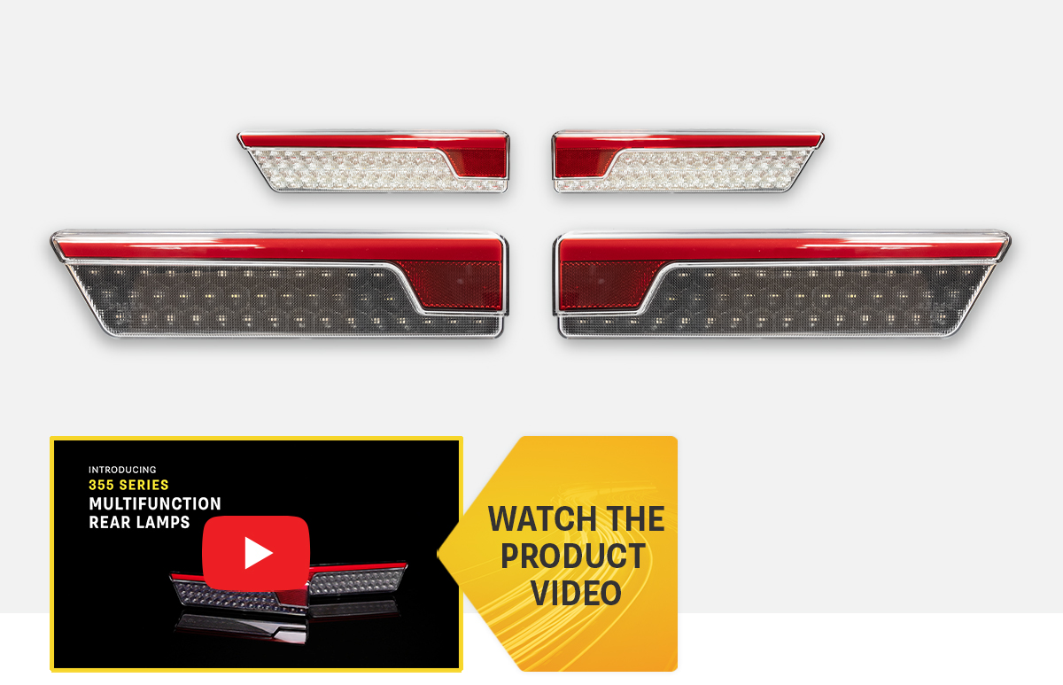 NEW Product Release - 355 Series Multifunction Rear Lamps