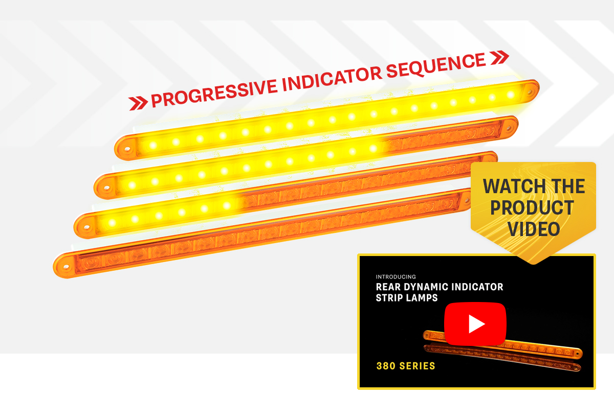 NEW Product Release - 380A12-DI Dynamic Indicator Strip Lamp
