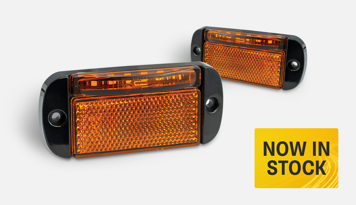 Product Focus – 44AMEC5 Low-Profile Side Marker/Indicator Lamp
