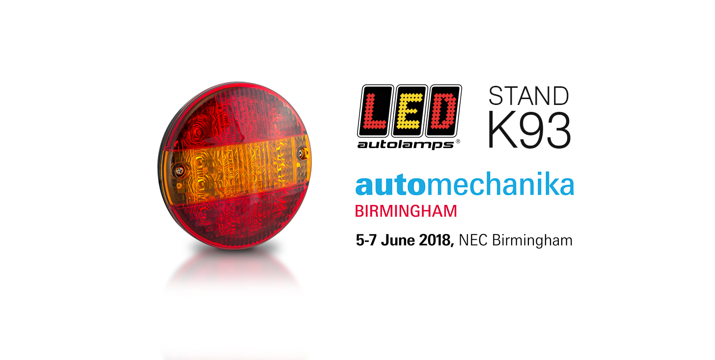 Automechanika Birmingham - only a week away!