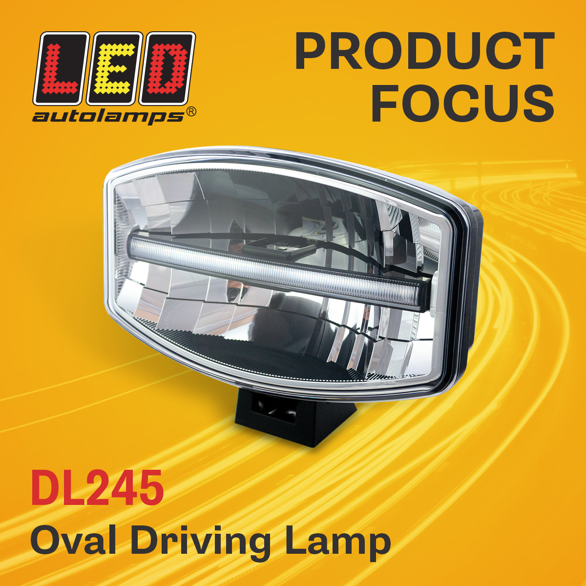 Product Focus – DL245 Oval Driving Lamp